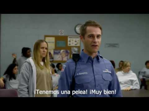 OITNB Crazy Eyes Fight (sub español),