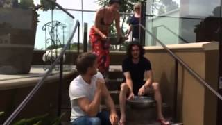 Video: ALS Ice bucket challenge - Lena Headey and Kit Harington