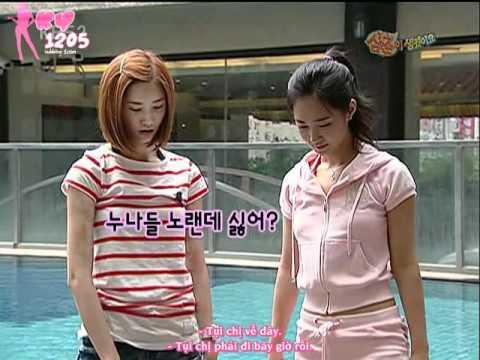 [VIETSUB] SBS I have an uncle - SNSD Yuri & Yoona[KY1205] 1/2