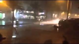 عاصفة قوية تضرب مدينة اكادير | زووم