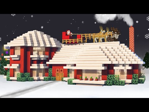 tutorial: ? Minecraft - Christmas House - Tutorial #46 (HD) ?