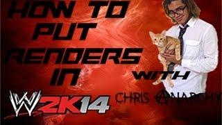 WWE 2k14 Render Hack Tutorial (Xbox 360) {WWE 2k14