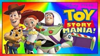 Toy Story Mania ESPAÑOL Película Para Niños Kids