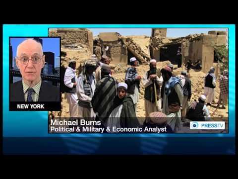 Michael Burns  US plans to stay in Afghanistan forever