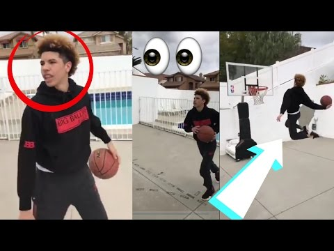 Lamelo Ball And Lonzo Ball Dunking Like Zion Williamson :: Ball Brothers Vs Zion Williamson!