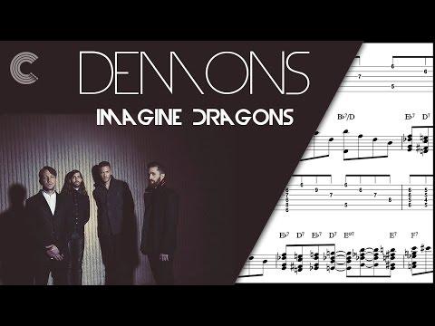 Alto saxophone demons imagine dragons sheet music chords and