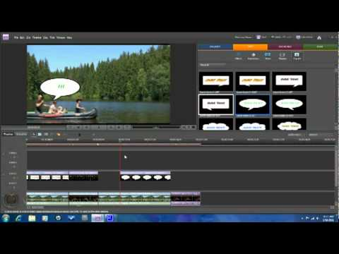 How to Use Motion Tracking - Adobe Premiere Elements 8