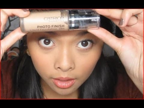 Catrice Photofinish Foundation - Routine und Review ^.^
