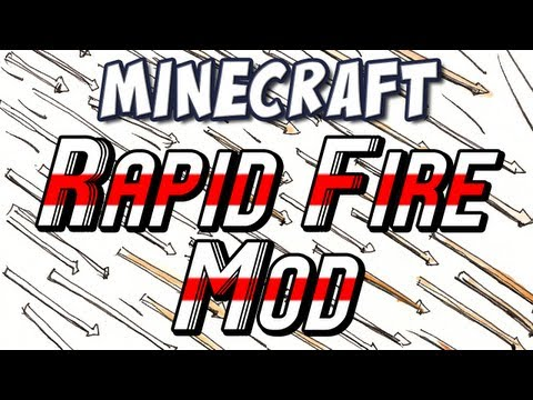 Minecraft - Rapidfire Bow & Time Control Mods!