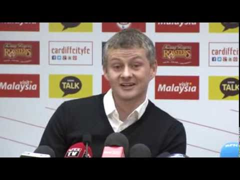 OLE UNVEILED AS CARDIFF CITY MANAGER