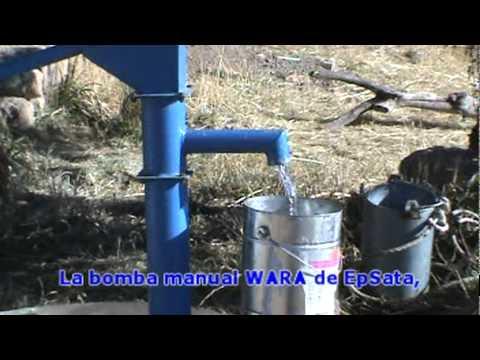 Bomba manual de agua wara youtube - Bomba manual de agua ...