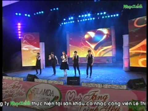 Quà Tặng Tình Yêu 02/2012 - I Love You - Hồ Ngọc Hà & Nhóm V.Music