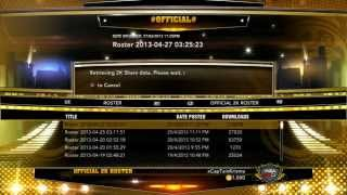 NBA 2K13 : How To Update Your Roster