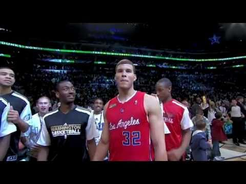 Blake Griffin Dunks over Car to win the Dunk Contest [FINAL]