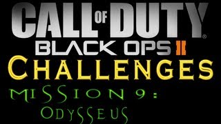Black Ops 2: Mission 9 (Odysseus) All Challenges