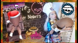 Monster High Frankie's Fright Nights Thanksgiving