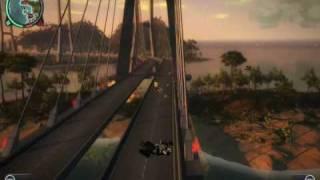 "Just Cause 2 Flying ""Iron-Man"" Mod (Super Smash Bros"