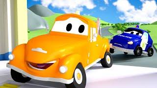 Bebé Matt se chocó ! - Tom la Grúa en Auto City 🚗 l Dibujos Animados para Niños