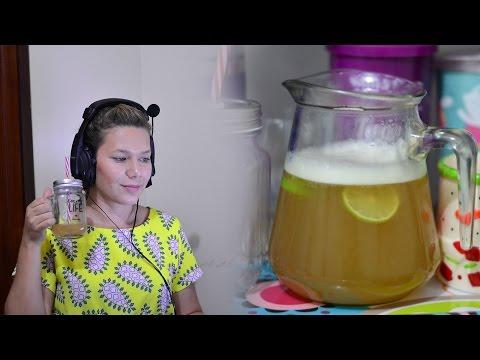 Como fazer Chá Gelado 🍹 | Capim Santo com Limão + Erros de Gravação