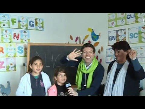 Alicudi: la scuola più piccola d'Europa