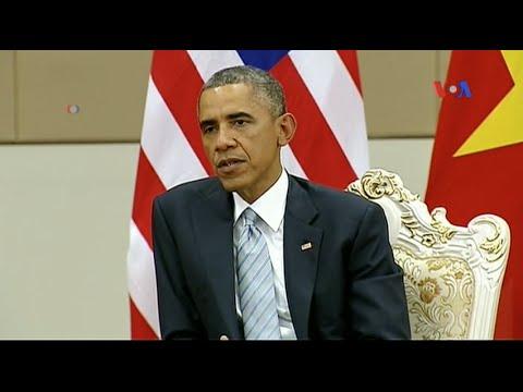 Tổng Thống Obama muốn thắt chặt hơn nữa quan hệ với Việt Nam