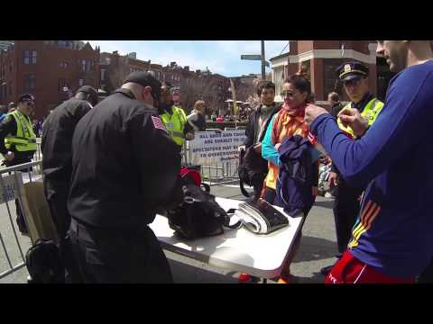Bags searched without warrants at 2014 Boston Marathon checkpoints