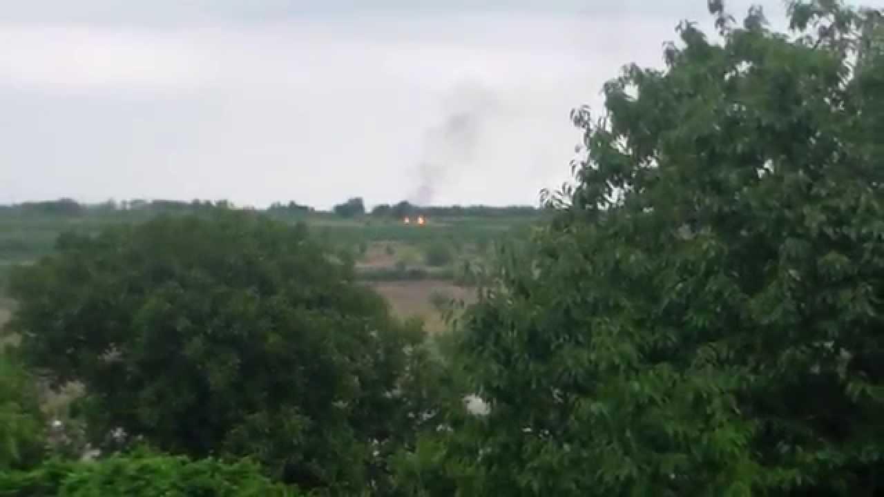 Au dat foc la vegetație pe deal, lîngă sat