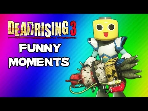 Dead Rising 3 Funny Moments Gameplay 8 - Massive Bomb Nuke, Mega Man Suit, Final Boss Ending Fight