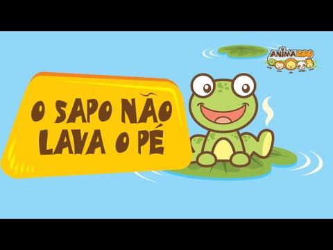 Animazoo - O Sapo Não Lava o Pé - Músicas Infantis