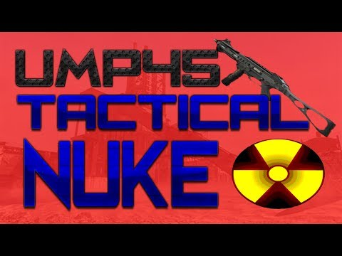 MW2: UMP45 Tactical Nuke