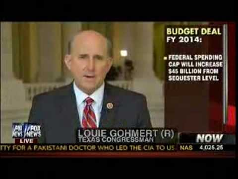 Ryan/Murray Budget Deal - Rep Louie Gohmert: The Military Should Not Have Taken The Biggest Cut