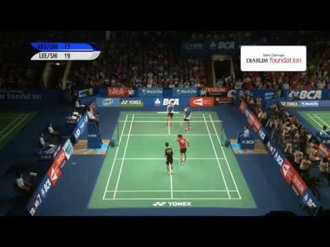 Kevin Sanjaya/Greysia Polii (INA) VS Lee Yong Dae/Shin Seung Chan (KOR)  - BCA Indonesia Open 2014