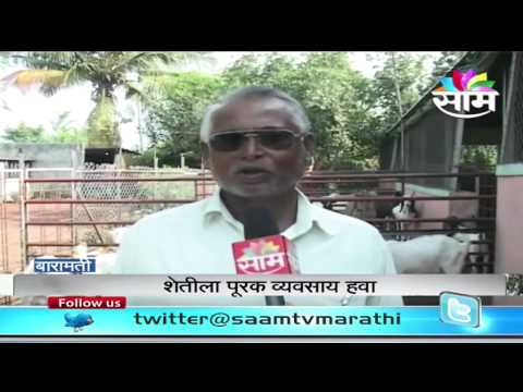 Bhanudas Bhoite's goat farming success story