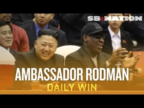 Dennis Rodman Back in North Korea - The Daily Win