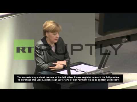 Germany: Merkel threatens Russia with sanctions