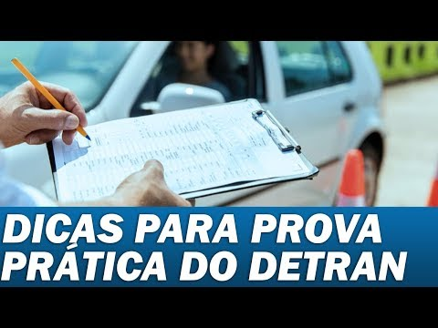 DICAS PROVA PRATICA DETRAN-CE FORTALEZA (2014)