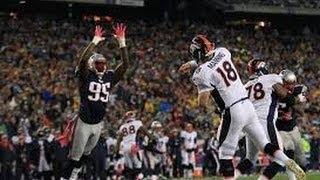 Denver Broncos Vs New England Patriots-- 2014 AFC