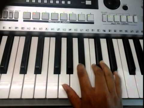 how to play on keyboard - tum hi ho part