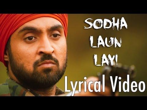Sodha Laun Layi Full Audio Song (Lyrical Video)   Punjab 1984   Diljit Dosanjh   Punjabi Songs