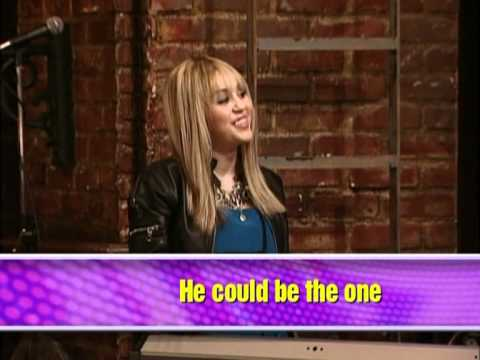 You could be the one hannah montana lyrics