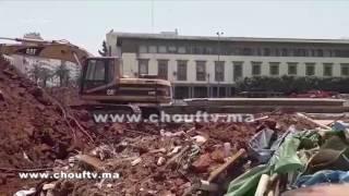 بالفيديو..شوفو أشنو واقع بسبب حمام و نافورة كازا القديمة | خارج البلاطو