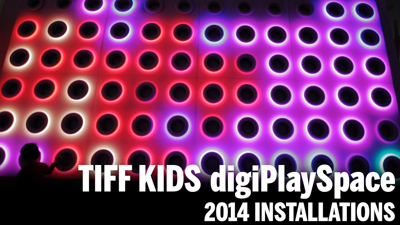 digiPlaySpace Installations | TIFF Kids 2014