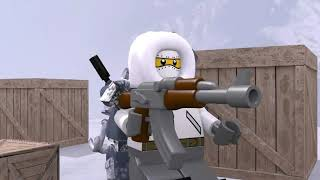 Lego Modern Warfare - Cliffhanger