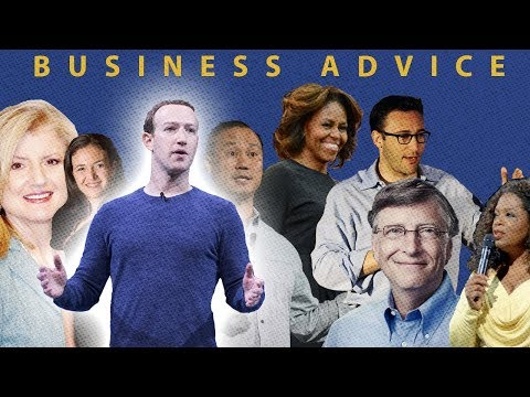 What advice would Business Leaders give their teenage self? Ft. Mark Zuckerberg and Bill Gates