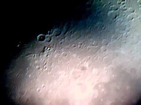 The moon in great detail UFO seen