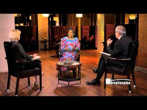 Catherine Samba-Panza sur TV5MONDE :