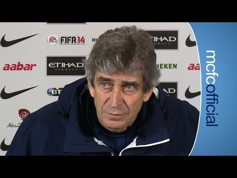 PELLEGRINI ON GUIDETTI: Blackburn Rovers v City Preview Part 2