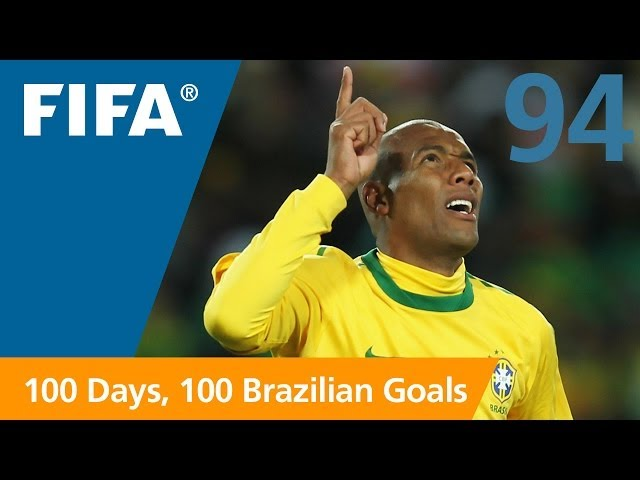94 days to GO-AL! Maicon (South Africa 2010)