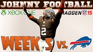 Madden CFM W/ Madden 15 Rosters Johnny Manziel Takes The