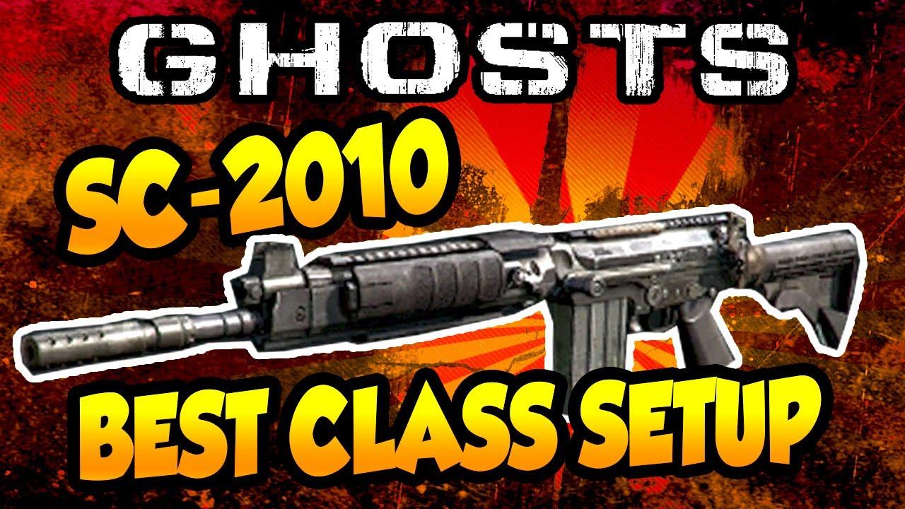 Sc 2010 best gun class setup call of duty ghosts youtube